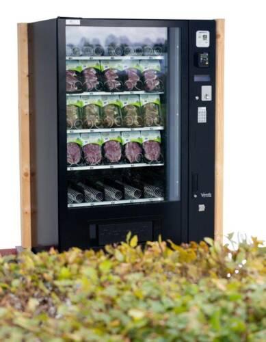Versautomaat voor lamsproducten geplaatst